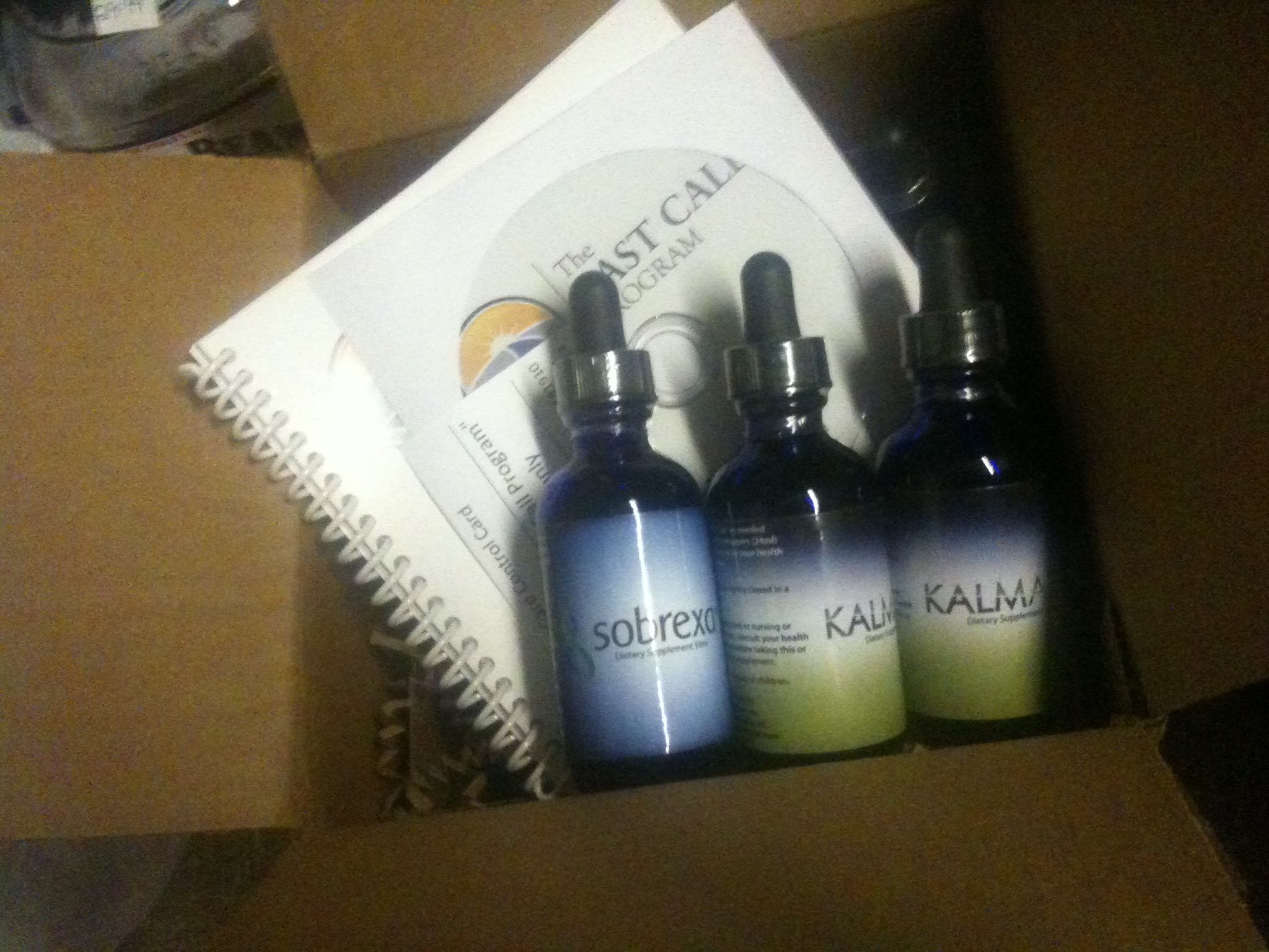Last Call package picture